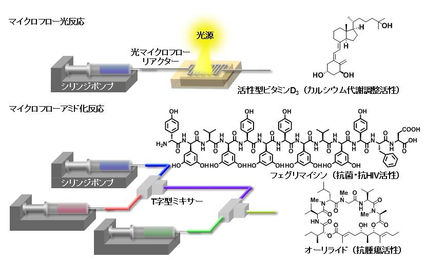 マイクロフロー合成